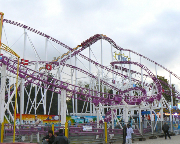 Great Roller Coaster - The King